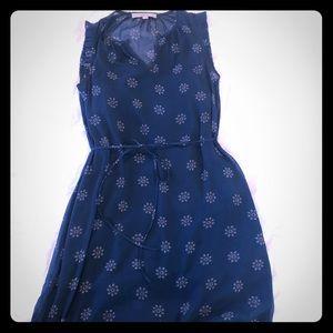 Loft dress, tie waist